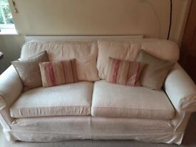 Large Multiyork Cream Sofa