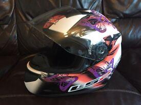 Women's LS2 Butterfly Motorbike Helmet Size XS