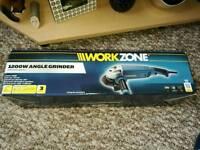 Workzone 1200w Angle Grinder