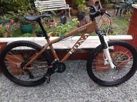 Kona Shred 16 speed Jump Mountain Bike,Hydraulic Disc brakes,
