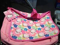 hello kitty girls school bag bnwt £12 marks and spencer