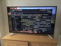 "Sharp 50"" LED TV - Full HD 1080p - Perfect Condition"