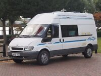 Ford Transit 2.4 campervan. Maintained at any expense. Engine uprated. Utterly reliable .