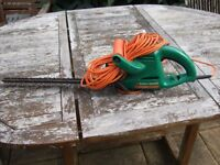 Elecric Hedgetrimmer by Black & Decker