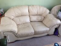 Sofa and reclining armchair