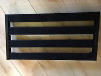 Cheap steel tube pedal board