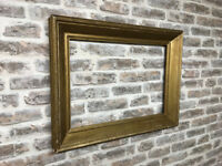 An Orate Period Gold Frame