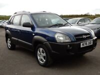2006 hyundai tucson jeep 2.0 diesel with only 86000 miles, motd april 2019