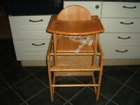 East Coast Highchair/Lowchair/Chair & Table