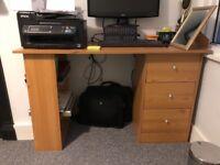 Argos Malibu Desk 3 Drawers - £20