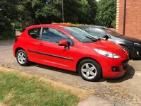 Peugeot 207 Verve 1.4, 59 Plate, MOT to 31 Dec