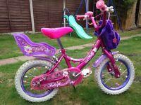 Girls bike - suit age 3-6