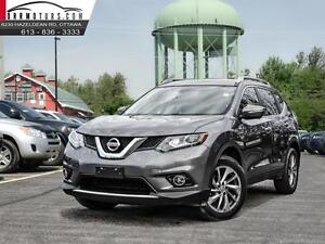 2015 Nissan Rogue AWD SL Nav-leather-roof