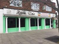 CLOSED RESTAURANT FOR SALE WITH 5 BEDROOM FLAT LEASHOLD- GREENFORD