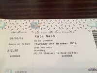 Kate Nash tickets, Village Underground, London
