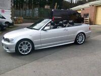54 plate BMW 318CI Sport Convertible