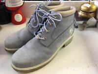 Baby Blue Timberland Boots