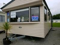 HUGE BEDROOM Static Caravan For Sale Ayrshire West Coast Scotland