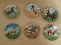 "Complete Set of ""Purebred Horses of Americas"" by Donald Schwartz"