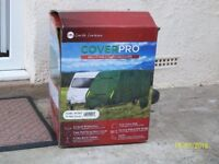 17 tom 19 ft caravan cover as new only used for i season we got the wrong size
