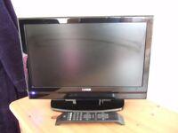 """Luxor 19"""" LCD DTV, black,"""