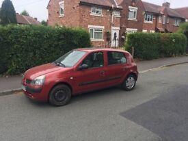 Renault Clio full working order MOT until june