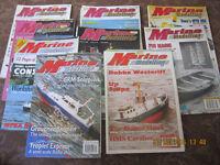 marine modelling magazine (lot of 27) 1993-1995