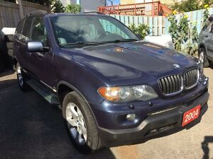 2004 BMW X5 3.0i Leather Panorama Roof Alloys GREAT DEAL!!