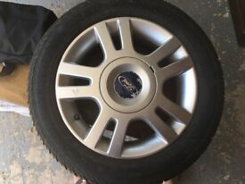 New Car Tyre including Alloy
