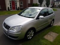 2008 VOLKSWAGEN POLO 1.2, LOW MILES AT ONLY 72K, ALLOY WHEELS, ELECTRIC WINDOWS! JUST SERVICED!