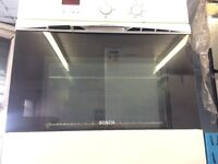 BOSCH BUILT IN ELECTRIC OVEN WITH GRILL SINGLE DOOR FREE DELIVERY AND WARRANTY