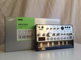 Korg Volca Bass Analogue Synthesizer