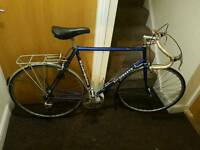 Holdsworth road bike with 28 inch wheel size and large frame