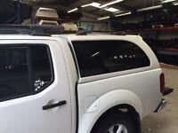 Nissan Navara D40 Hardtop in Artic White