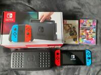 Nintendo Switch with extras
