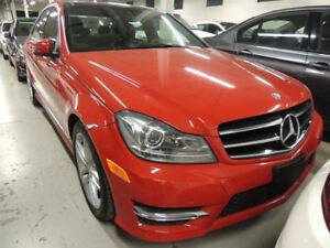 2014 Mercedes-Benz C-Class C300 4MATIC, PANO ROOF, NAVI, BACK UP