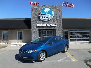 2013 Honda Civic LX! LOOK FINANCING AVAILABLE!