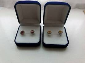 Gold/Silver/Rose Gold plated Stud earrings