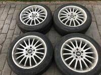 "Vw transporter 18"" alloy wheels & tyres"