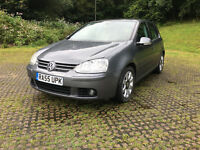 2005 VOLKSWAGEN GOLF GT TDI FULL SERVICE HISTORY 1 YEAR MOT VERY CLEAN CAR 6 GEARS
