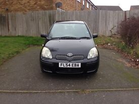 **TOYOTA YARIS T3 ** 1 OWNER ** 54000 MILES ** 5 DOORS** SERVICE HISTORY