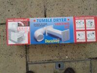 Tumble dryer wall vent kit