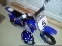 Razor mx350 kids electric dirt bike and helmet