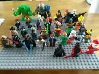 Custom Minifigures fit lego