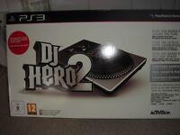 ps3 dj hero 2 turntable bundle