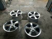 "18"" mercedes alloy wheels"
