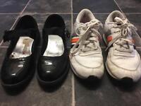 girls school shoes bundle size 3 £5