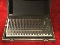 Mackie SR 24.4 24 Channel Mixer & Flight Case