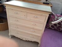 Chest drawer & dressing table (Camille-Dunelm)n