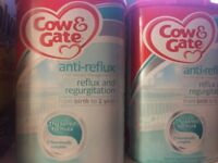 Cow and gate anti reflux milk